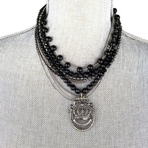 Juicy Couture Multi-Strand Necklace (A230)